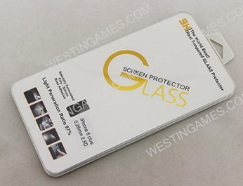 """0.26mm 9H Real Tempered Glass Film Screen Protector Cover for iPhone 6 Plus 5.5"""""""