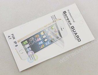 Front Clear HD Film Guard Screen Protector for iPhone 6 4.7 inch
