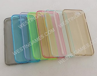 """Transparent Crystal Soft TPU Case Cover Skin Matte Surface For iphone 6 4.7"""" - 8 Colors"""