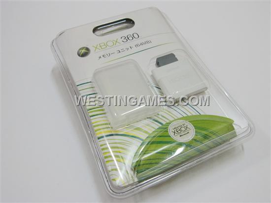 XBOX 360 64MB Memory Unit Card (Original)--XBOX360 Memory Card | Westingames.com