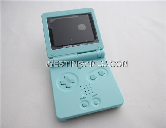 Game Boy Gameboy Advance Sp Consoles Light Light Blue Gba Sp