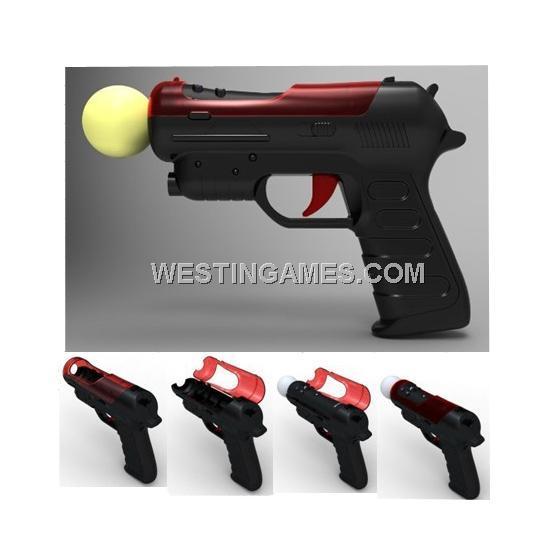 Ps3 Light Gun Controller: Light Gun Red Color For PS3 Move Motion Controller--PS3