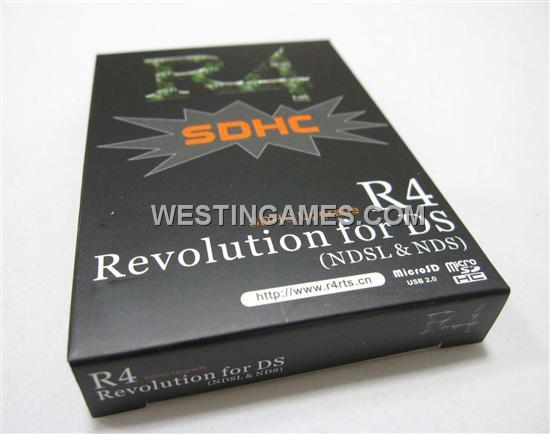 R4 SDHC Revolution Card for DS/DS Lite--DS/DSI/3DS Flashcard
