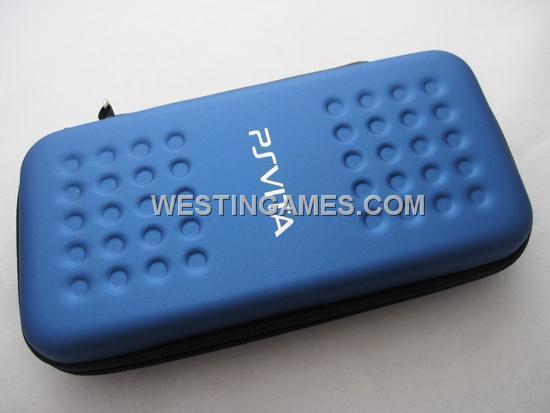 Hori Hard Case Pouch for PSVita PS Vita - Blue--PS Vita