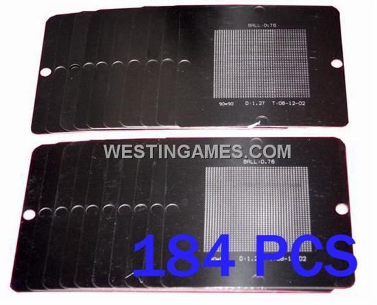 90x90 20 ATI AMD Stencil Template X1600 IXP400 IXP450