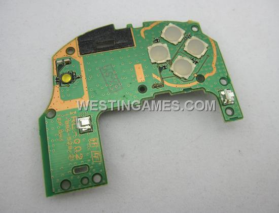 left control pcb board of directional buttons for psv ps vita