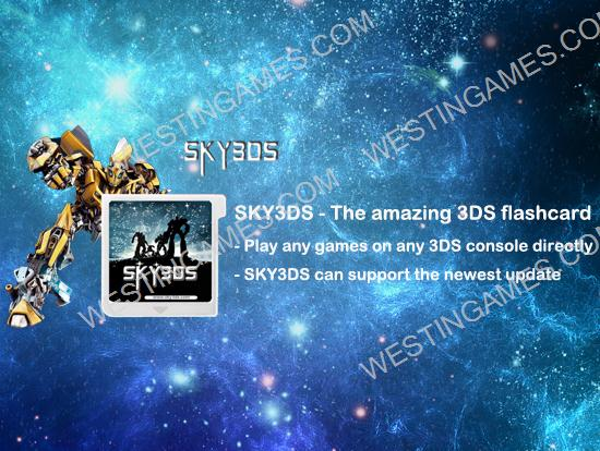 Sky3ds 3ds first flashcard for playing 3ds games on 2ds - Can you play 3ds games on 2ds console ...
