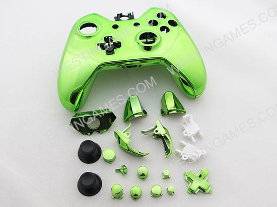 Full mirror chrome housing shell case replacement for xbox for Mirror xbox one