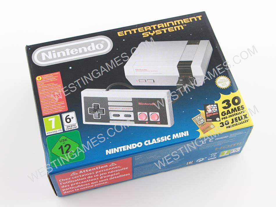 Mini NES Classic Edition Console